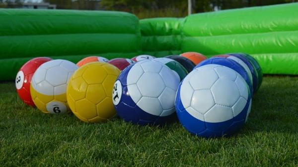 Klaar voor een wedstrijdje pool voetbal?